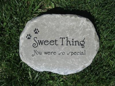 Medium Garden Pet Memorial