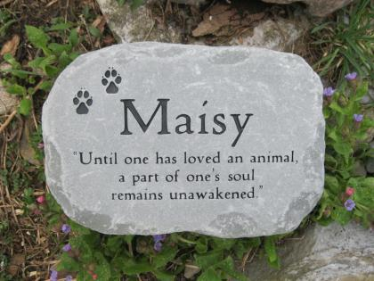Large Pet Headstone 13 14 Quot Across Adirondack Stone Works