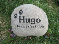 River Rock Pet Memorial Stones